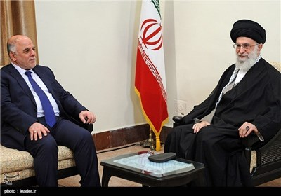 Photos: Iraq's Prime Minister Meets with Supreme Leader