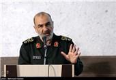 حرس الثورة الإسلامیة أنتج صواریخ بالیستیة لضرب الأهداف المتحرکة