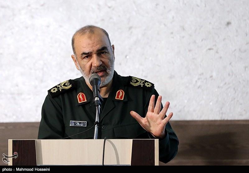سخنرانی سردار سلامی در اختتامیه مسابقات قرآن کارکنان هوافضای سپاه
