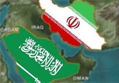 پرچم ایران وعربستان سعودی