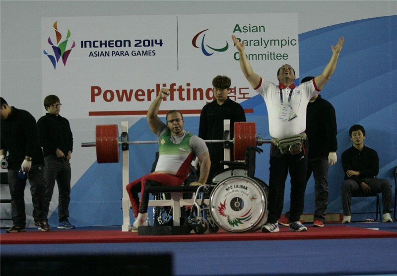 Iran's Solhipour Claims Silver at World Para Powerlifting