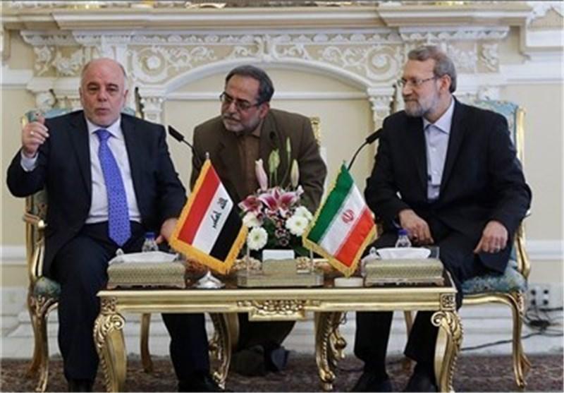 رئیس مجلس الشوری الاسلامی: ایران الاسلامیة لن تسمح للارهابیین تهدید أمن العراق أبدا