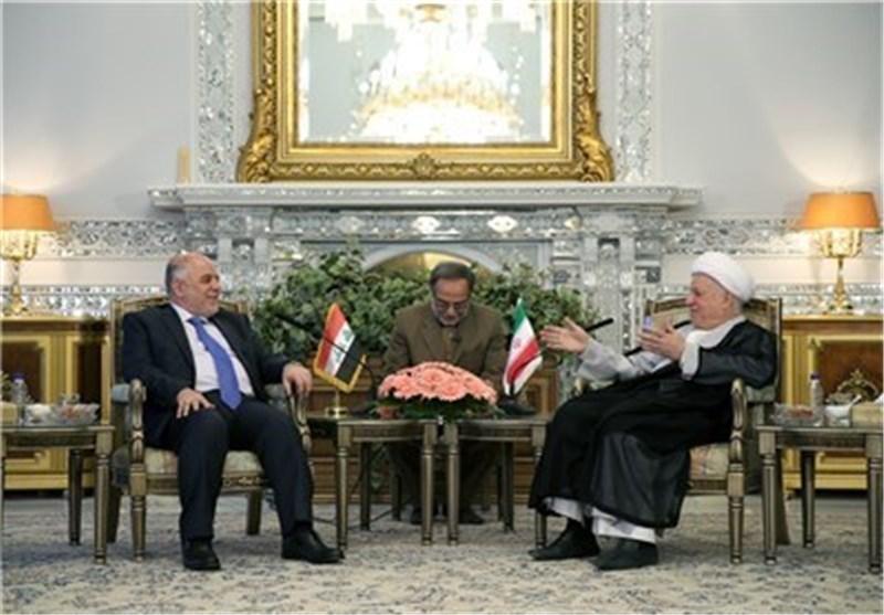 آیة الله رفسنجانی : حرب صدام ضد ایران الاسلامیة أخفقت فی النیل من العلاقات بین شعبی البلدین