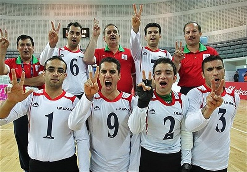 Asian Para Games: Iran's Goalball Bags Gold