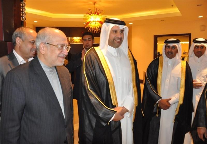 وزیر الصناعة والمناجم یدعو لتحدید مصرفین فی قطر وایران لبدء التعاون المشترک بین البلدین