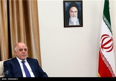 الامام الخامنئی یستقبل رئیس الوزراء العراقی