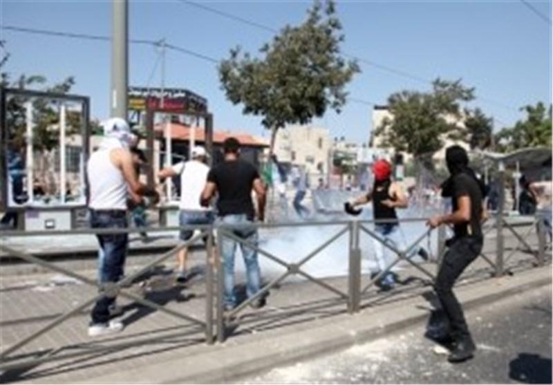 درگیریهای شدید در خیابانهای قدس اشغالی