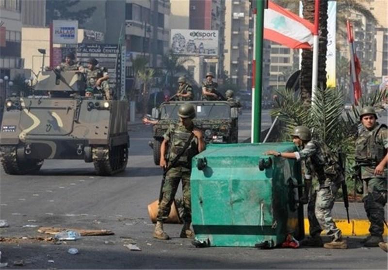 لبنان - ارتش - درگیری