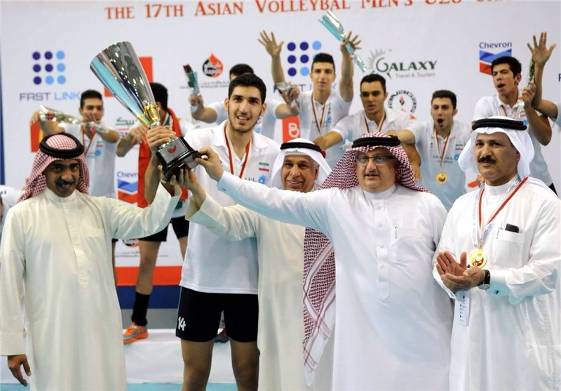 Iran Wins Asian Junior Volleyball Championship