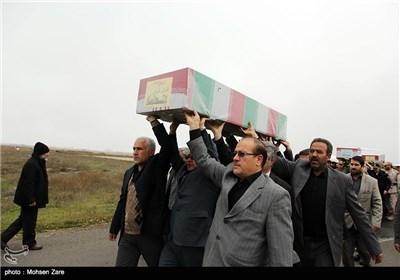ورود 6 شهید گمنام به اردبیل