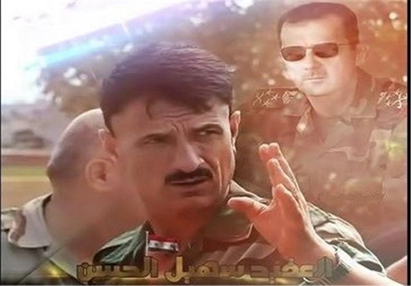 """الرئیس الأسد یهنئ قائد العملیات العسکریة فی """"حماه"""" على العمل البطولی المشرّف + فیدیو+ صور"""