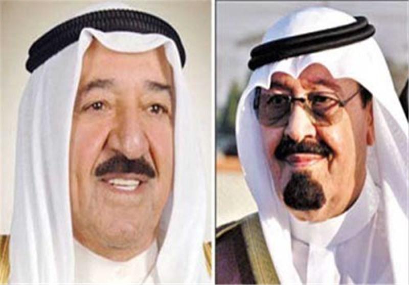 الملک السعودی یبحث العلاقات الخلیجیة مع امیر الکویت