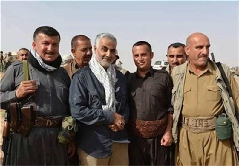 قائد قوات البیشمرکة الاکراد : اللواء سلیمانی مفخرة الأکراد