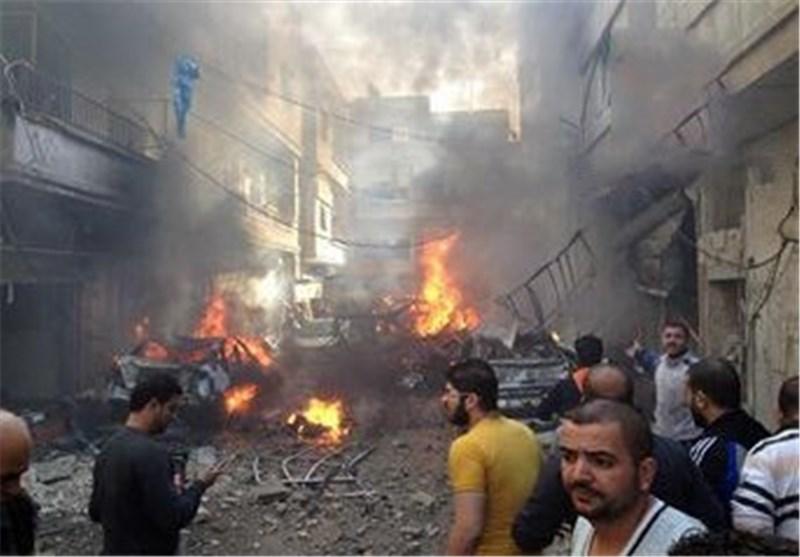 "شهداء وجرحى فی انفجار سیارة مفخخة فی حی ""الزهراء"" بحمص وسط سوریا+ فیدیو + صور"