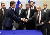 توافق روسیه، اوکراین و اتحادیه اروپا بر سر قرارداد عرضه گاز