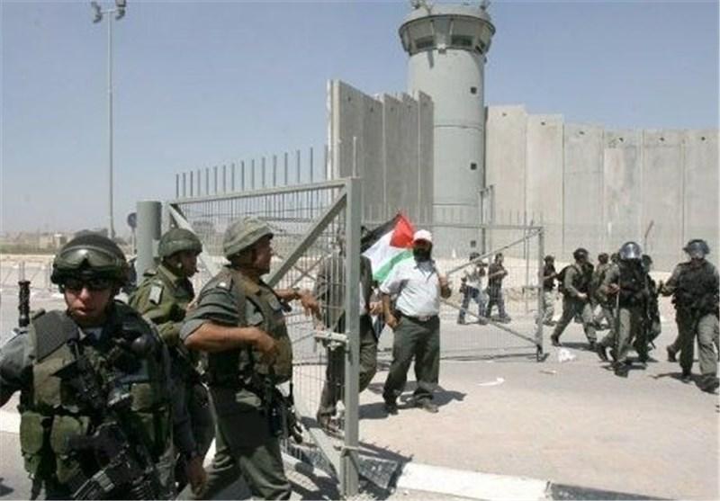 نظامیان صهیونیستی درگیری با فلسطینیها
