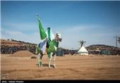 بزرگترین تعزیه میدانی کشور در صحرا رود فسا