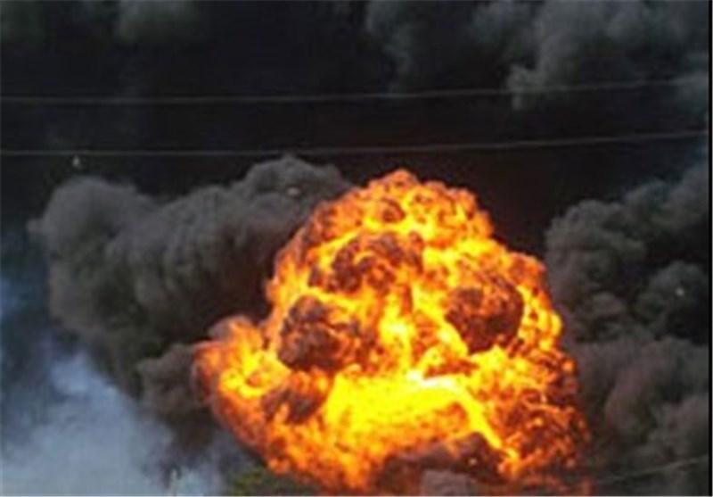انفجار در مخزن گاز شرکت بوتان یزد