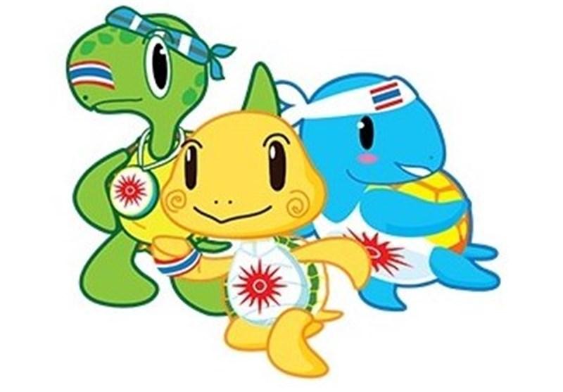 لوگوی بازیهای ساحلی آسیا- 2014 تایلند