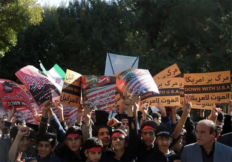 صدها هزار دانشآموز خراسان رضوی در راهپیمایی 13 آبان حضور پیدا میکنند// انتشار//