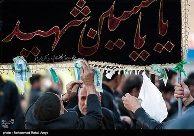 مراسم عزاداری حسینیه اعظم زنجان(1)