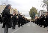 آئینهای تاسوعای حسینی در 42 شهر آذربایجان غربی برگزار شد