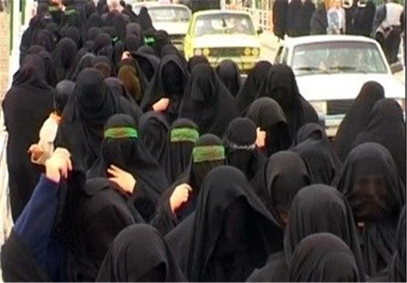 """دختران لرستانی میزبان آئین سنتی """" چهل منبر"""" در روز تاسوعا+ تصاویر"""