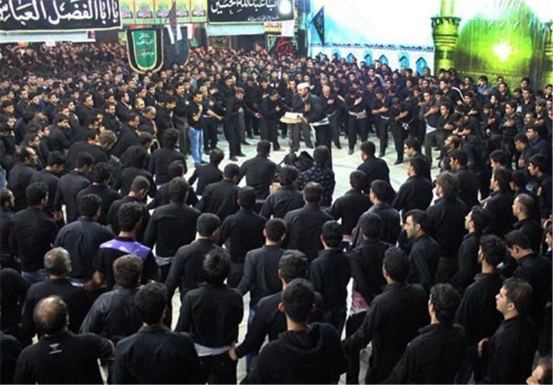 شور حسینی در عاشورا استان بوشهر را فرا گرفت