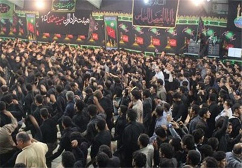 تاسوعای حسینی استان بوشهر غرق در عزا و ماتم است