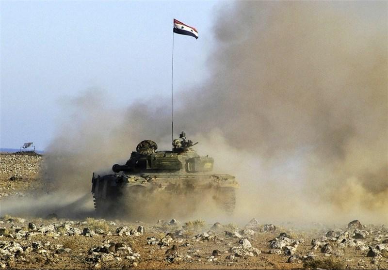 """الجیش السوری یتقدم فی بلدة """"بالا"""" بالغوطة الشرقیة بریف دمشق"""