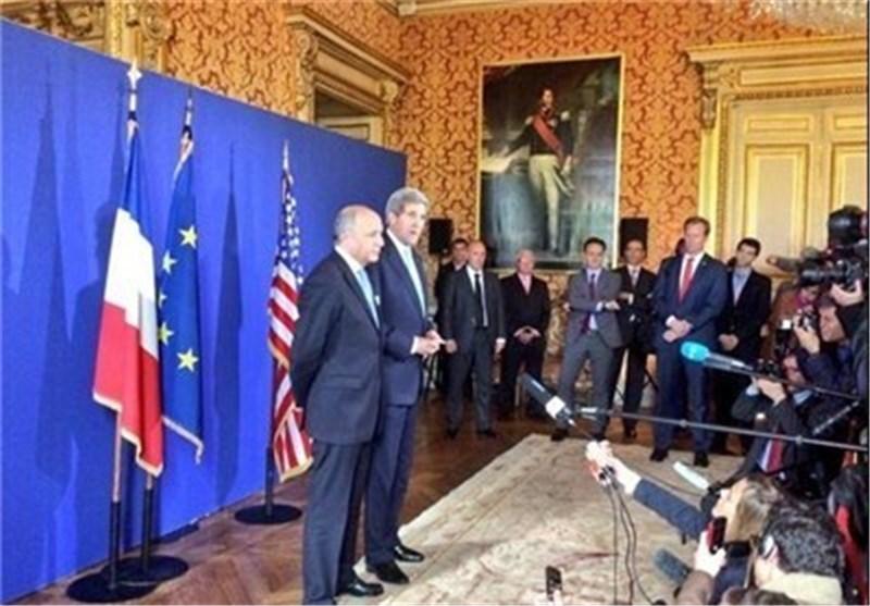فابیوس: اختلافات زیادی با ایران داریم/کری: به دنبال هر توافقی نیستیم