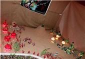 نمایشگاه «لبهای عطشان» در اردبیل گشایش یافت