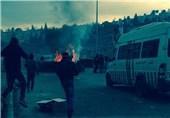 درگیری فلسطینیان و نظامیان صهیونیست در مرکز بازجویی اسرای فلسطینی/ زخمی شدن 22 نفر در درگیریهای نابلس