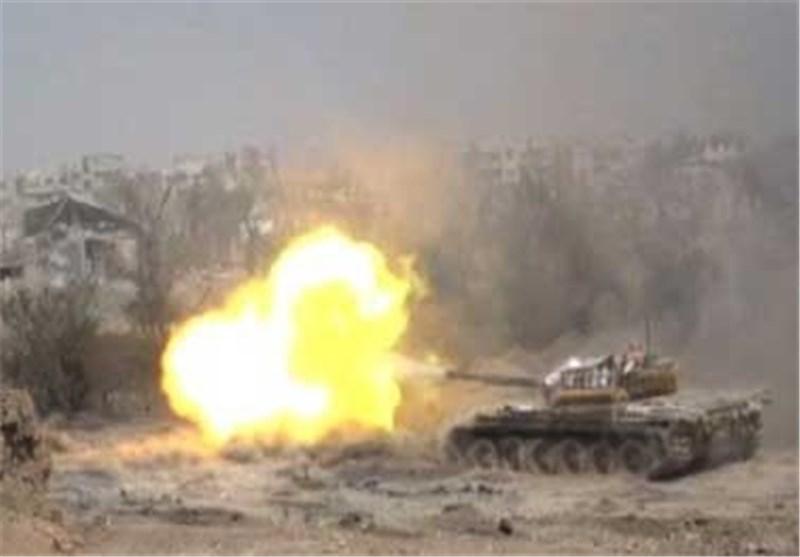 الجیش السوری یدمر نفق للمجموعات الإرهابیة فی القنیطرة جنوب غرب سوریا