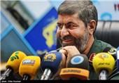 نشست خبری سردار رمضان شریف مسئول روابط عمومی کل سپاه