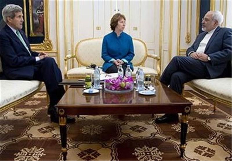 انتهاء الجولة الثالثة من المفاوضات بین ظریف وکیری واشتون فی مسقط