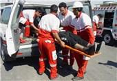 577 گرفتار در سیل توسط نیروهای هلال احمر استان کرمانشاه امدادرسانی شدند//انتشار