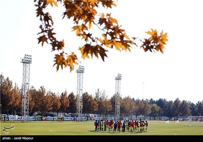 Iranian National Football Team Training Camp in Tehran