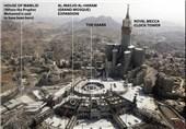آسیب بناهای تاریخی مکه با برجسازیهای آل سعود