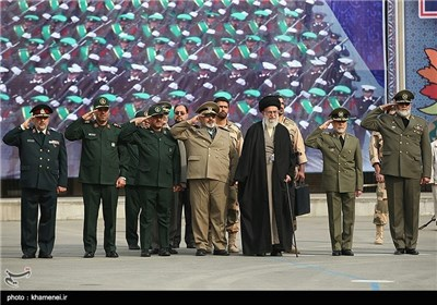 Supreme Leader Attends Graduation Ceremony of Army Cadets