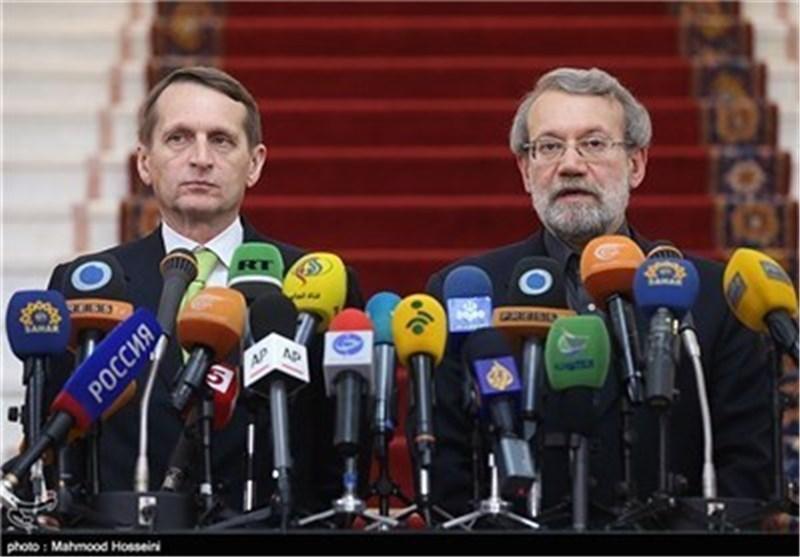 "Speaker Calls Iran-Russia Ties ""Historical"""