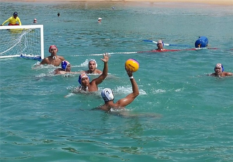 Iran Water Polo Claims Silver in Asian Beach games
