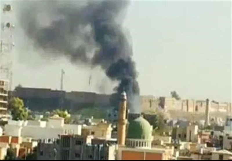17 کشته بر اثر آتش سوزی در هتلی در اربیل