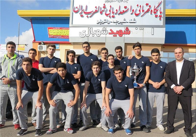 مسابقات واتر پلو زیر 18 در زنجان