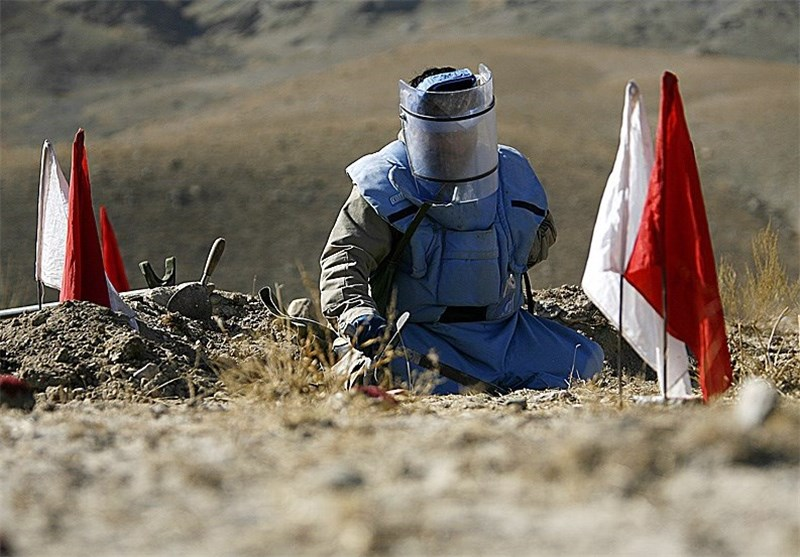 4500 هکتار از اراضی آلوده به مین در کردستان پاکسازی شده است