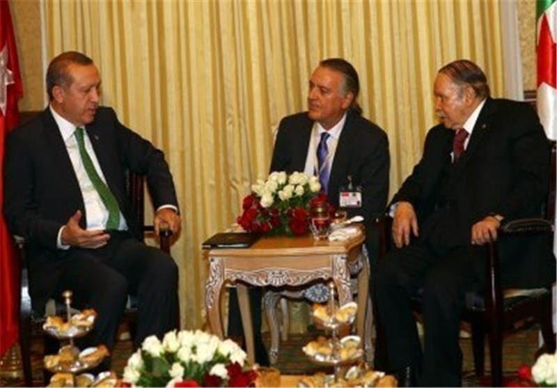 اردوغان و بوتفلیقه
