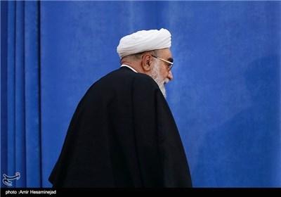 حجتالاسلام محمدی گلپایگانی رئیس دفتر مقام معظم رهبری در کنگره اسوه زهد، جهاد و اجتهاد - قم