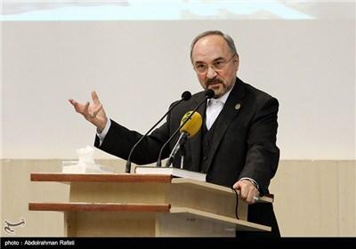 سخنرانی محمد خزاعی معاون وزیر اقتصاد در دومین همایش بینالمللی فرصتهای سرمایهگذاری استان همدان
