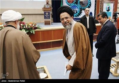 حجت الاسلام سیدمحمود علوی وزیر اطلاعات در دومین همایش بینالمللی فرصتهای سرمایهگذاری استان همدان