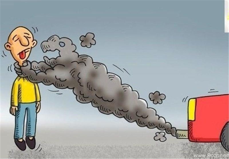 آلودگی هوا خودرو